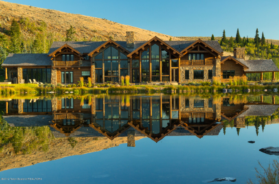 $37 Million 118 Acre Estate In Jackson, WY