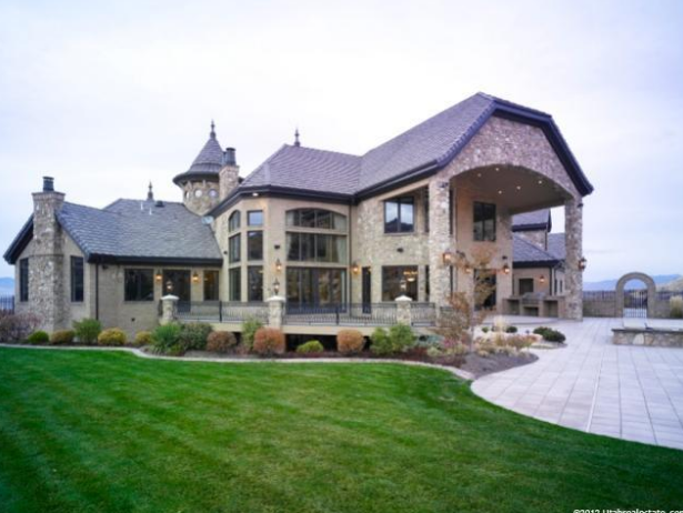 $5.9 Million 16,000 Square Foot Mansion In Draper, UT