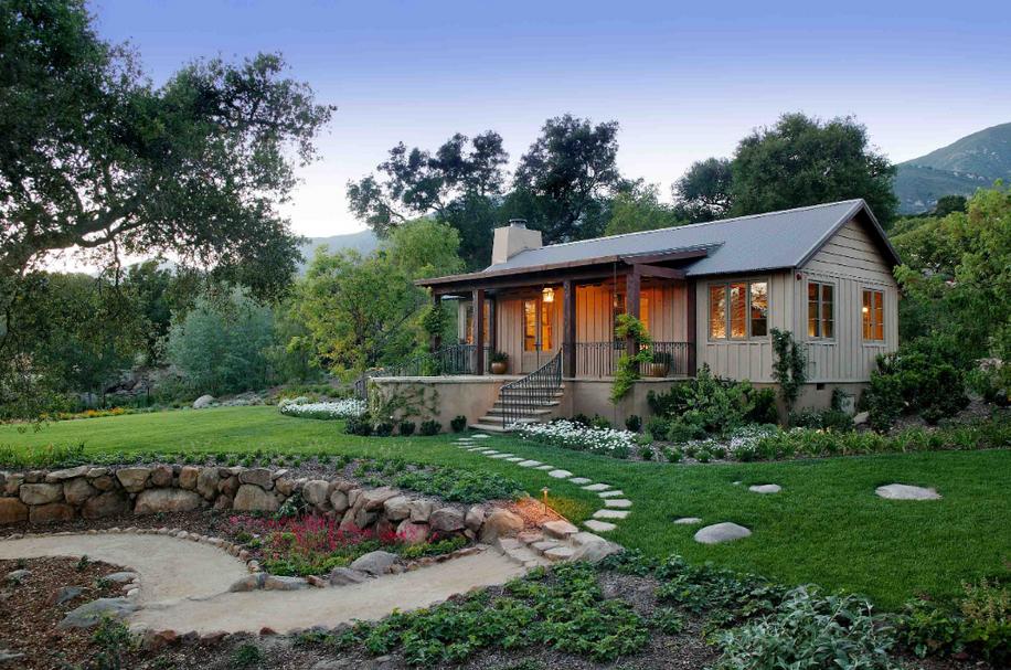 12 9 Million Tuscan Inspired Estate In Montecito Ca