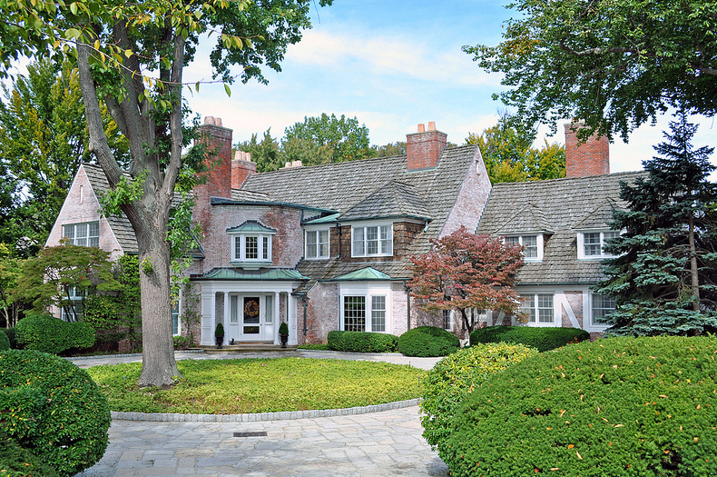 Historic estate in grosse pointe farms mi photographed by House builders in michigan
