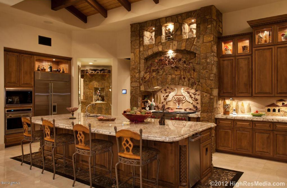 10 Million Tuscan Style Mountaintop Mansion In Scottsdale