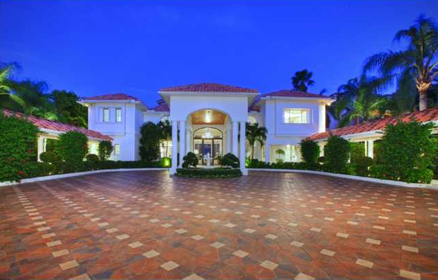 12 5 Million Waterfront Mansion In Palm Beach Gardens Fl Homes Of The Rich