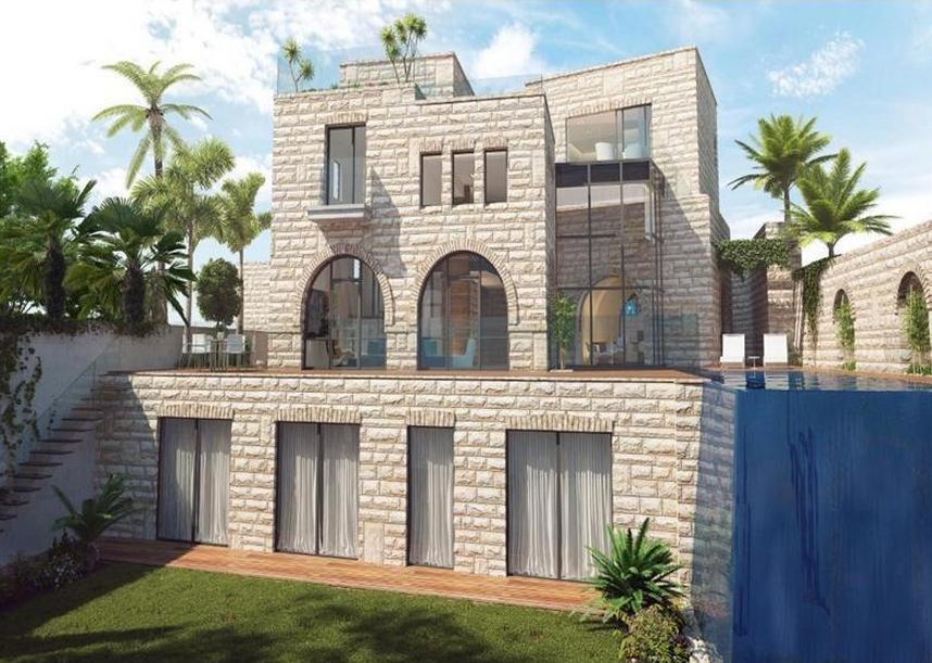 To Be Built Jerusalem Stone Villa In Israel