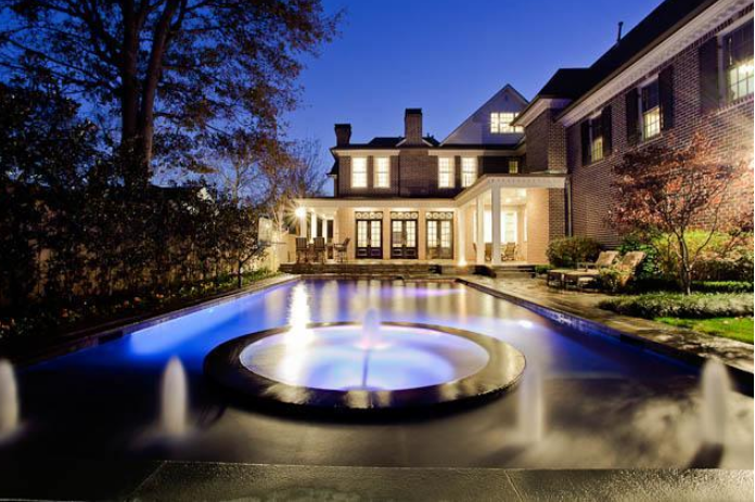 11,000 Square Foot Traditional Mansion In Dallas, TX