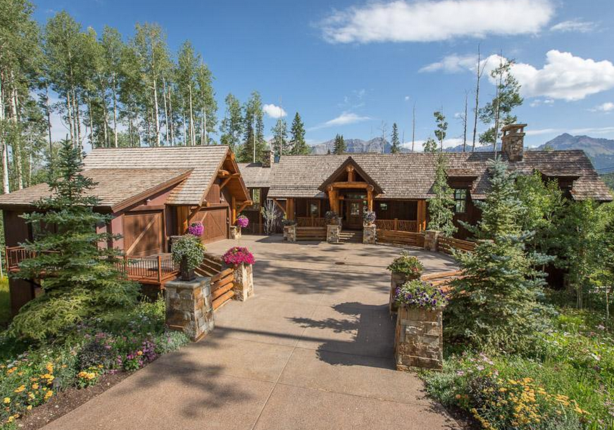 10 000 Square Foot Mountaintop Estate In Telluride Co