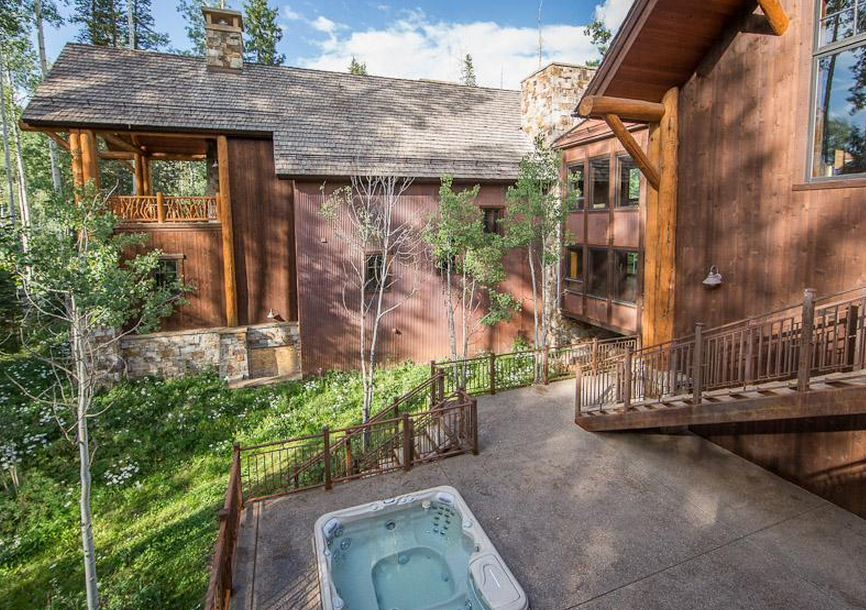 10,000 Square Foot Mountaintop Estate In Telluride, CO With Attached Guest House