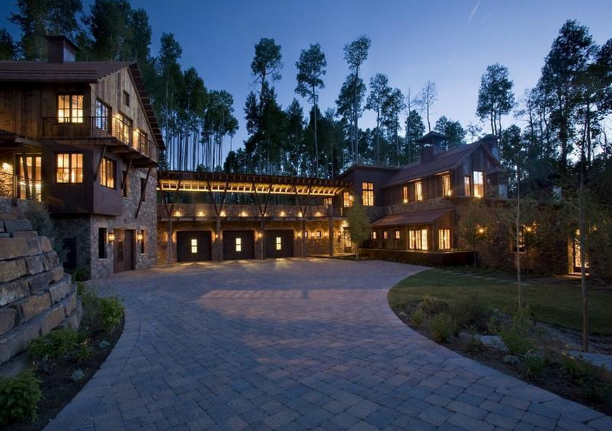 12 9 Million Newly Built Modern Mountaintop Mansion In