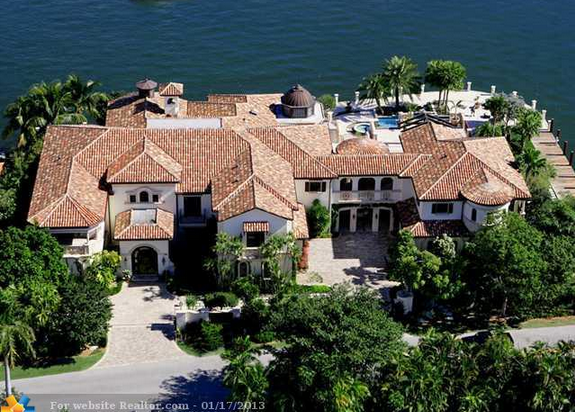 Square Foot Mediterranean Waterfront Mansion In Fort - Before and after from a mediterranean house fort lauderdale