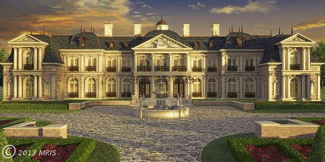 To Be Built Versailles Inspired Chateau On The Market For $45 Million