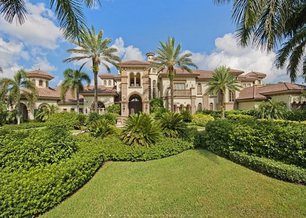 15 000 square foot lakefront mansion in naples fl homes