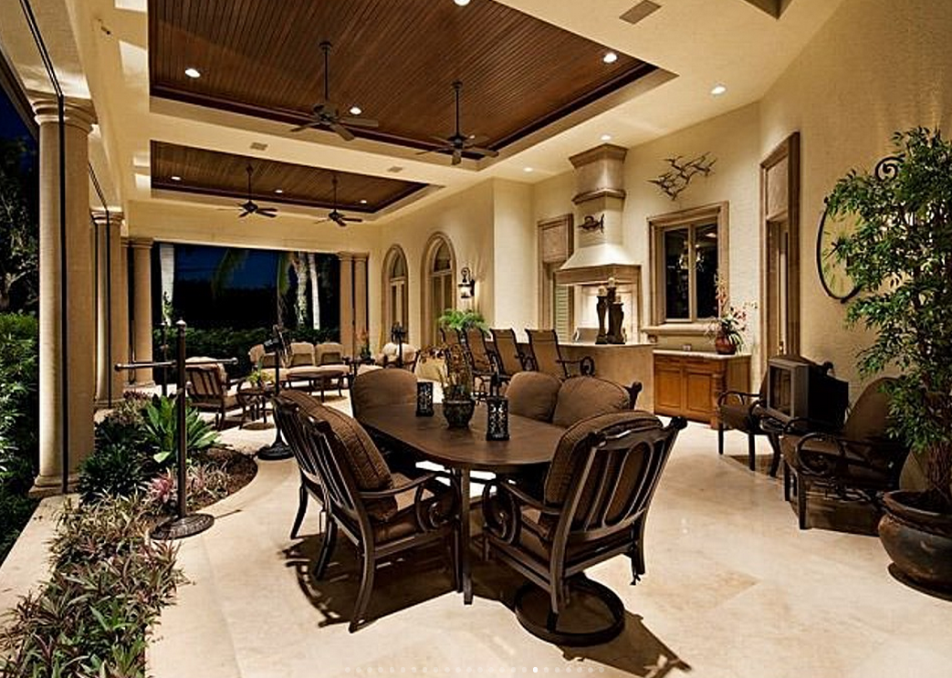 15,000 Square Foot Lakefront Mansion In Naples, FL