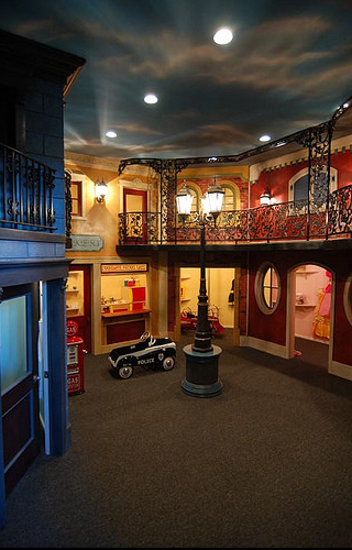 A Look At Some Children's Playrooms From Houzz.com
