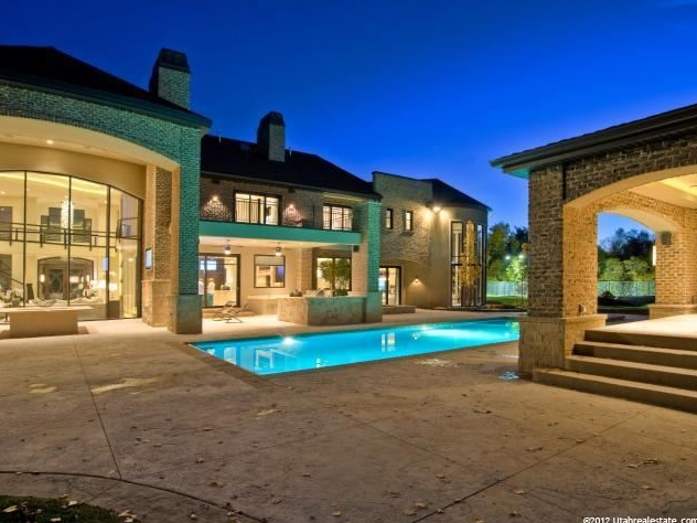 Luxurious 24,000 Square Foot Mansion In Holladay, UT
