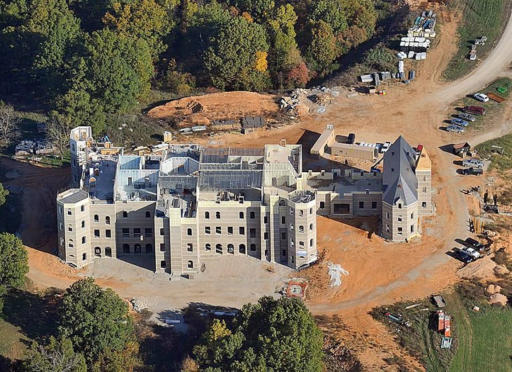 Video Update On The 72,000 Square Foot Pensmore Estate