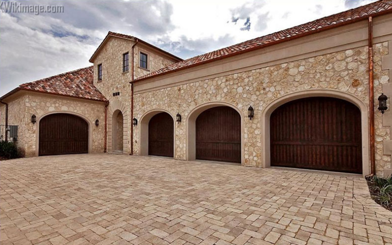 10,500 Square Foot Mediterranean Stone Mansion In A Gated Subdivision In Dallas, TX