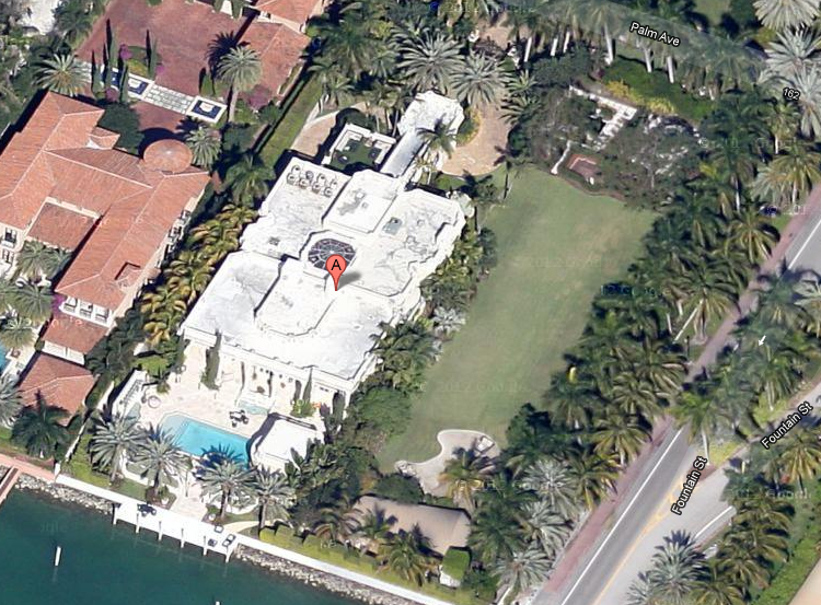 $17.5 Million Waterfront Mansion In Miami Beach, FL
