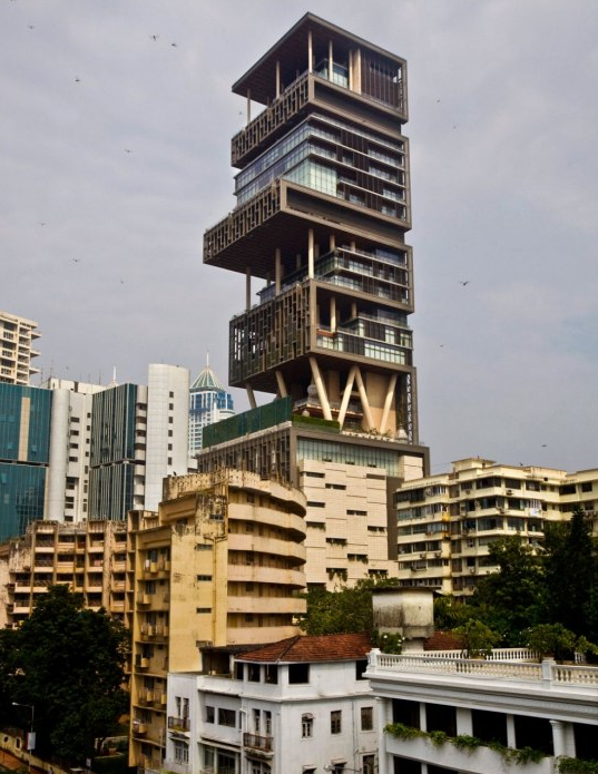 Antilla The 1 Billion Super Home In Mumbai India on Luxury Penthouse Apartment Floor Plans