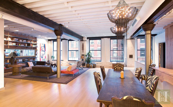 4 000 square foot loft in tribeca homes of the rich