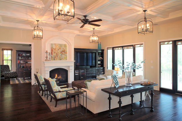 A Look At Some Family Rooms From Houzz.com