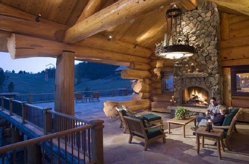 10 Million Log Estate In Loveland Co Homes Of The Rich