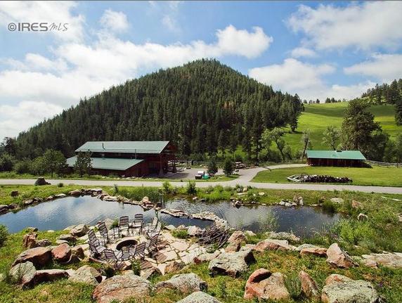 $10 Million Log Estate In Loveland, CO