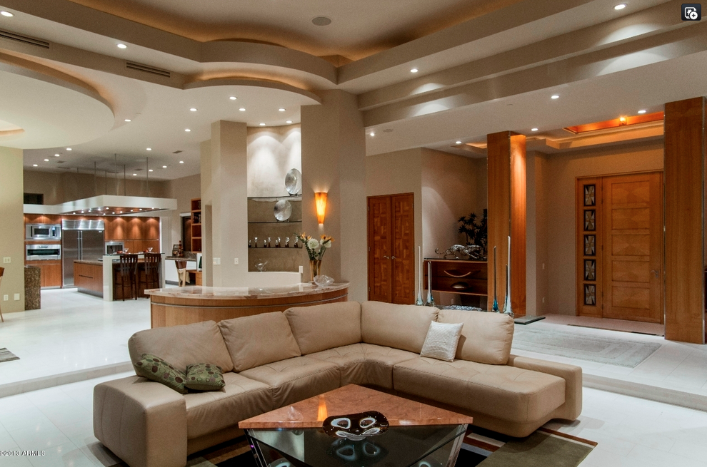 10 800 Square Foot Contemporary Mansion In Fountain Hills