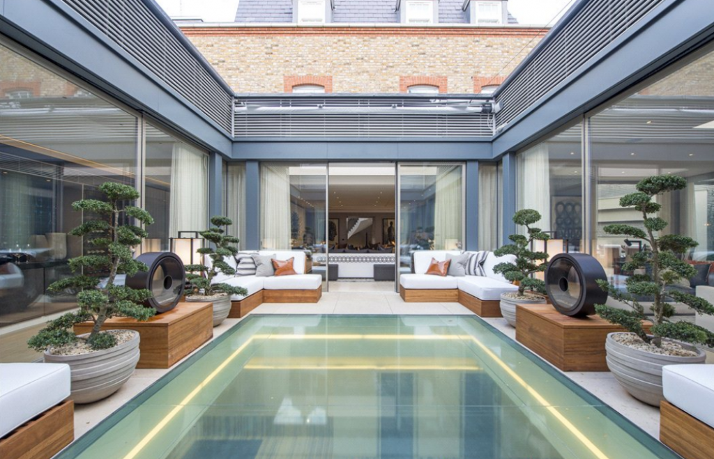 35 Million Luxurious 4 Level Home In London With Indoor Pool Homes Of The Rich The Web 39 S 1