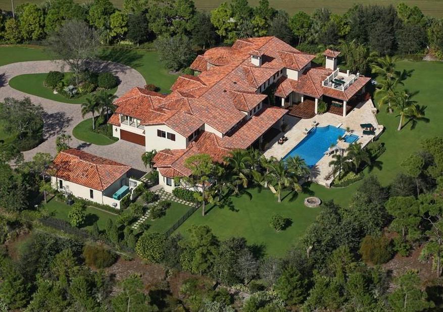 $12.5 Million Mansion In The Bear's Club In Jupiter, FL