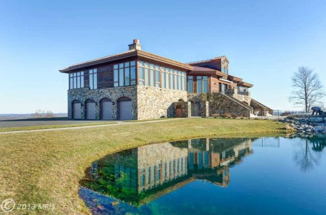 13,000 Square Foot Contemporary Mansion In Upperville, VA
