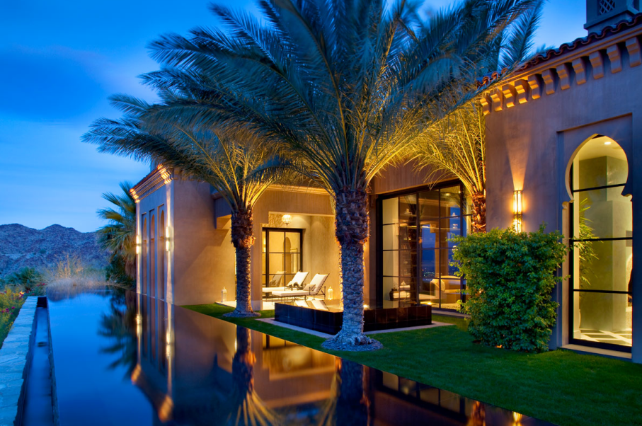 Casbah cove a moroccan style masterpiece in palm desert ca homes of the rich - Villa decor desert o architecture ...