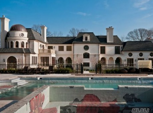 $12.5 Million Newly Built European Inspired Mansion In Sands Point, NY