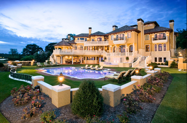 This beautiful waterfront mansion is located on clay court in rumson nj and was shown on an episode of hgtvs million dollar rooms