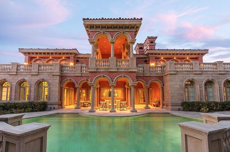 Newly Listed $10.5 Million Mediterranean Style Mansion In Las Vegas, NV