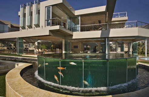 Glass house a 27000 square foot modern mega mansion in johannesburg south africa homes of the rich