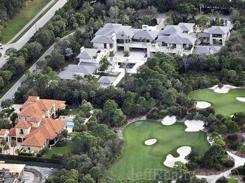 Michael Jordan's Jupiter, FL Mega Mansion Complete