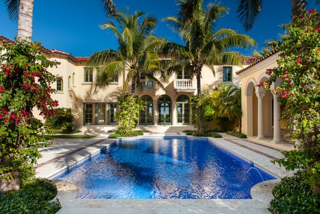 Vera Wang S Former Palm Beach Fl Estate Unofficially On