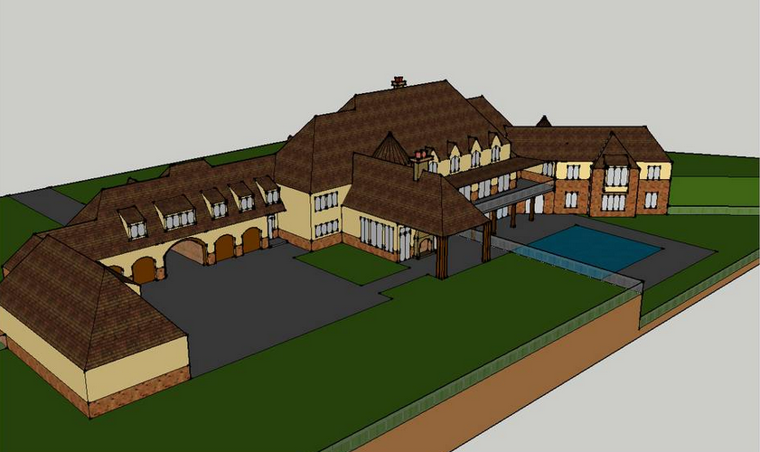 A Homes Of The Rich Reader S Updated Google Sketchup