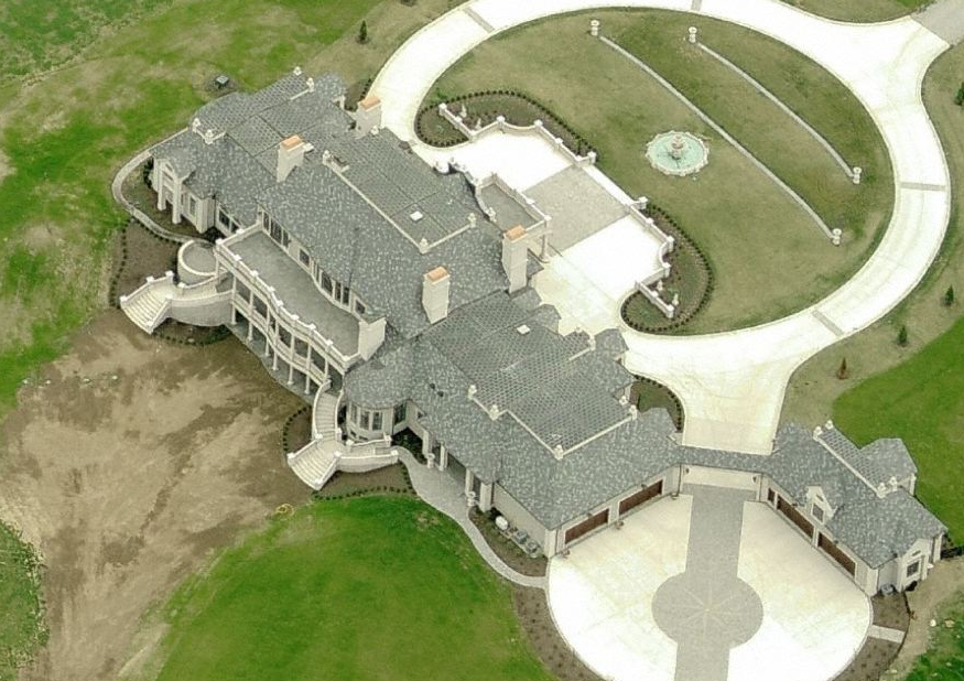 Newly Built Mega Mansion In Centerville, OH