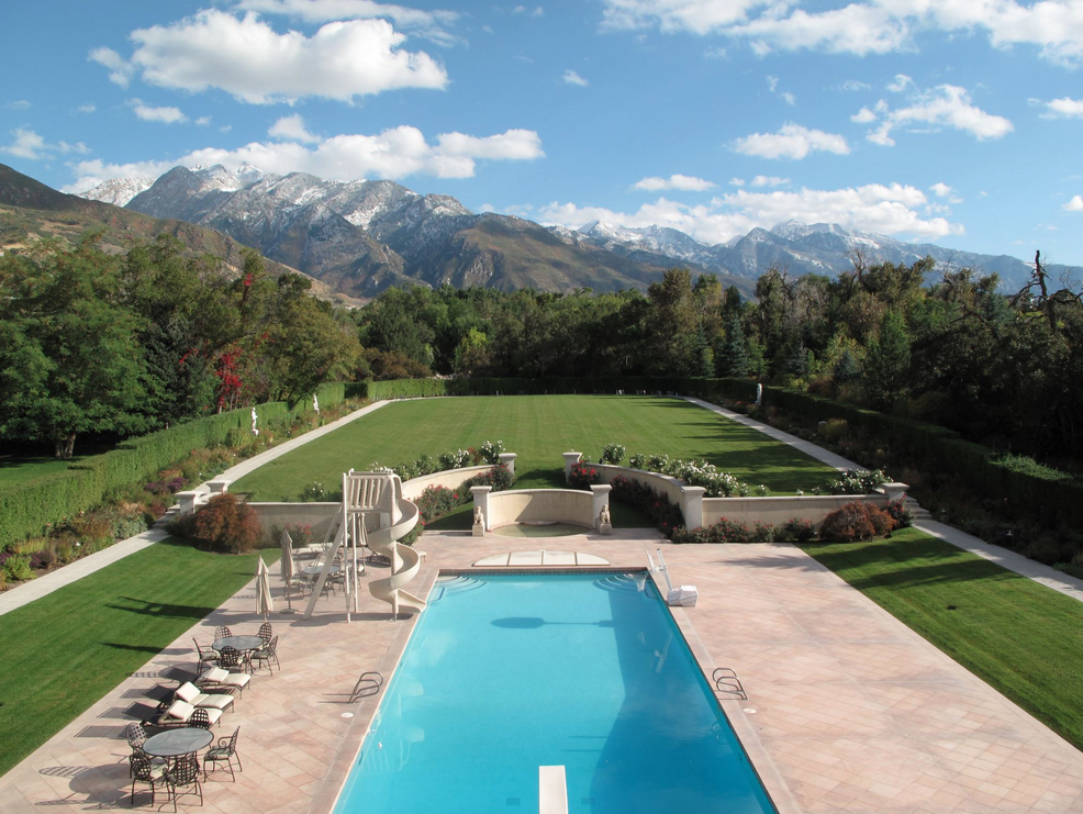 40 000 square foot mega mansion in holladay ut being