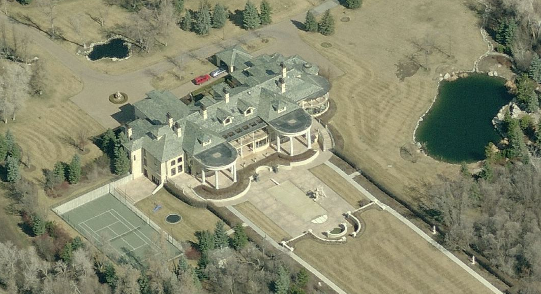 40,000 Square Foot Mega Mansion In Holladay, UT Being Auctioned Off