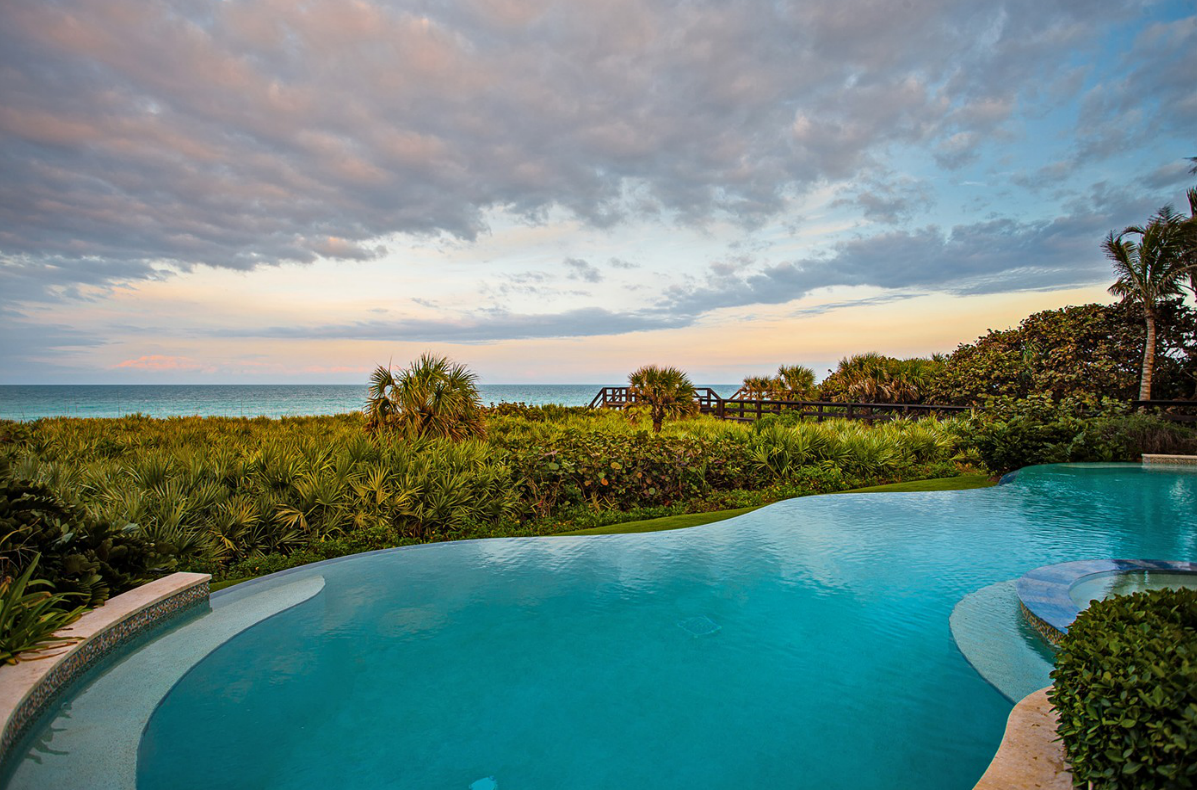 $12.5 Million French Provincial Oceanfront Mansion In Vero Beach, FL ...