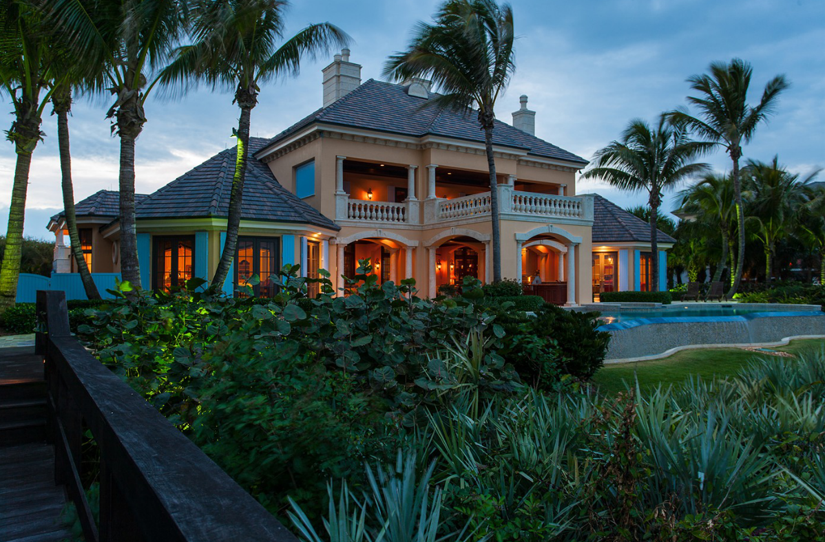 $12.5 Million French Provincial Oceanfront Mansion In Vero Beach, FL