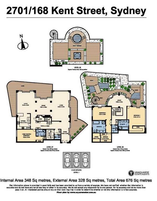 $10.5 Million Triplex Apartment In Sydney, Australia