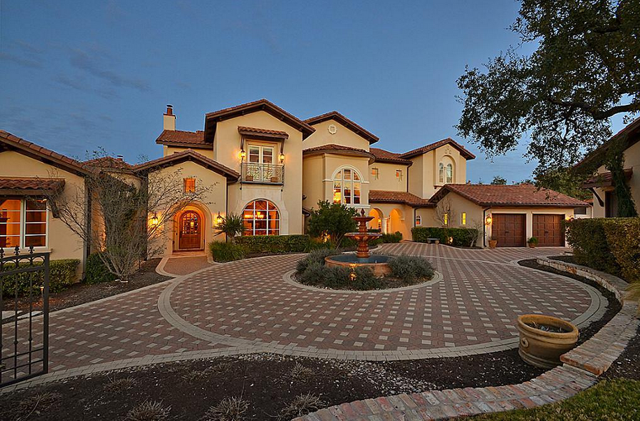 10 000 Square Foot Spanish Style Mansion In Austin Tx