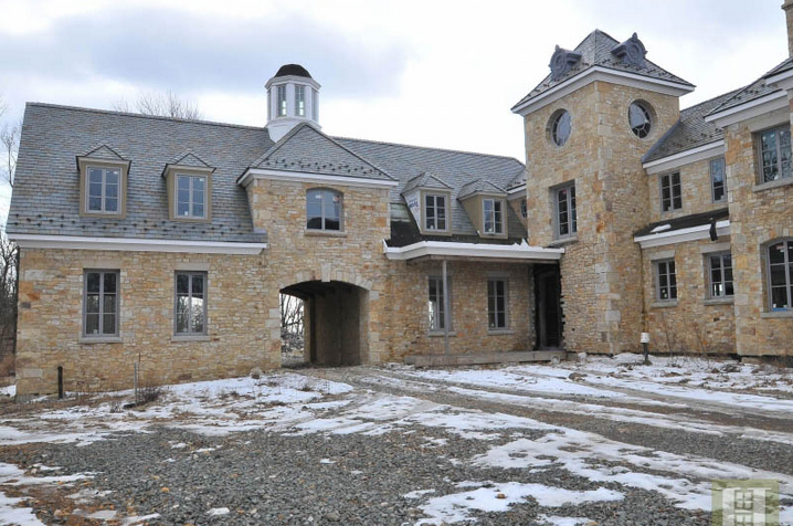 Newly Built French Country Stone Mansion In Basking Ridge
