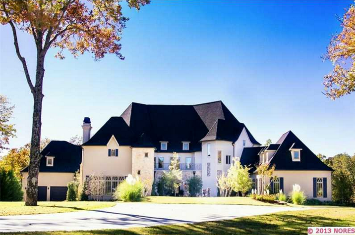 Newly Built French Country Style Mansion In Owasso, OK