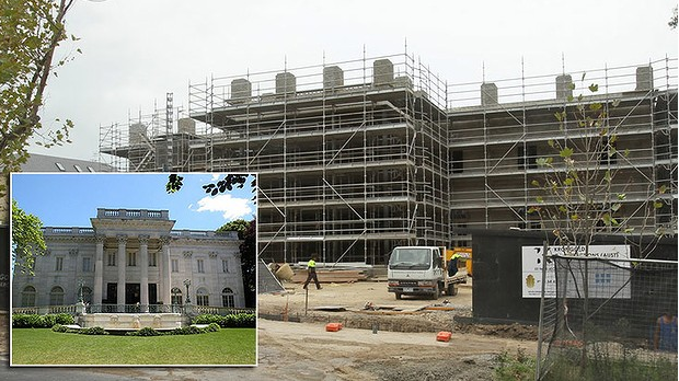 Australian Businessman Building a 34,000 Square Foot Mega Mansion Modeled After The Marble House In Newport