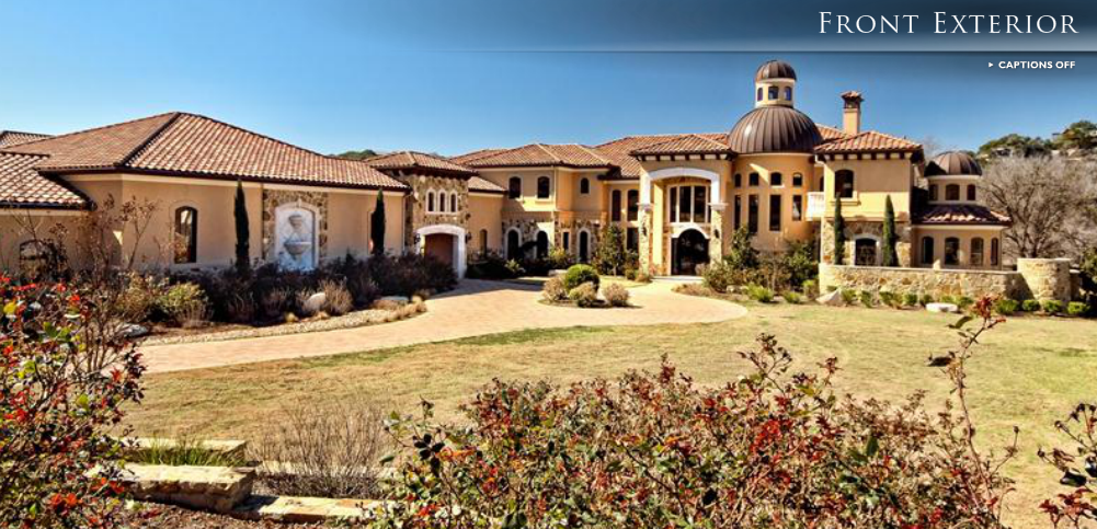 5 2 million lakefront mediterranean mansion in austin tx for The austin house