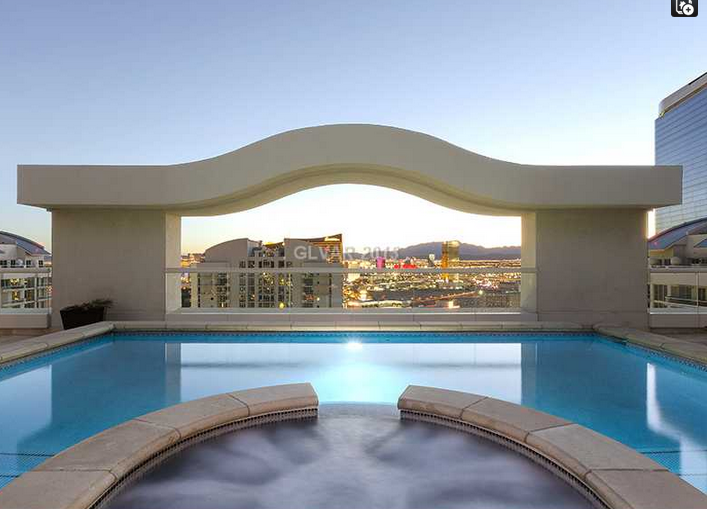 Lavish 12,000 Square Foot Contemporary Penthouse In Las Vegas, NV