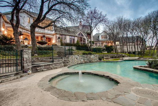 15,000 Square Foot Mansion In A Gated Community In Frisco, TX